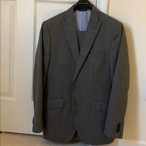 Banana Republic grey wool men's suit 38S